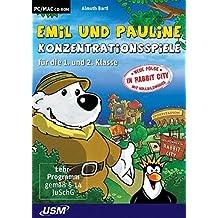 Emil und Pauline: Konzentrationsspiele für die 1. und 2. Klasse (PC+MAC)