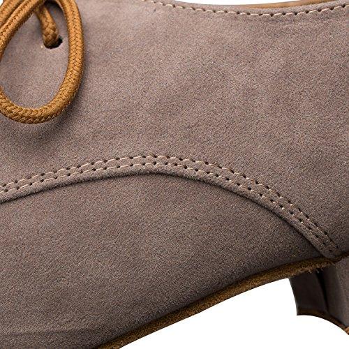 Miyoopark ,  Herren Tanzschuhe , Braun - Brown-2.5cm heel - Größe: 44 - 5