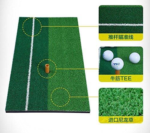 PGM Golf Matte 30,5x 61cm Private Praxis trifft Matte mit Gummi-Tee (Golf Swing-matte)