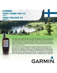 Garmin Topo Suomi Pro V2 - Mapas para GPS, cobertura geográfica Finlandia, región 3
