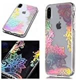 Artfeel Bling Briller Coque pour iPhone XS Max,Clair Transparent Souple Silicone TPU...