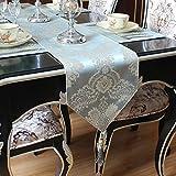 JINGJIE esstisch Dekoration Tischläufer,Moderne Einfache Élégant Jacquard Tischläufer chinesischer stil Bett-runner Tee tischläufer-A 30x180cm(12x71inch)