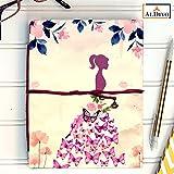 #4: ALDIVO Handmade Diary / Handmade Notebook (12.7cm X 17.78 cm) (Girl)