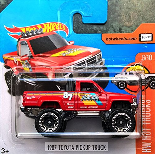 HOT WHEELS® Toyota PickUp Truck 1987 - 1:64 - rot u.a. (Toyota Pickup Truck)