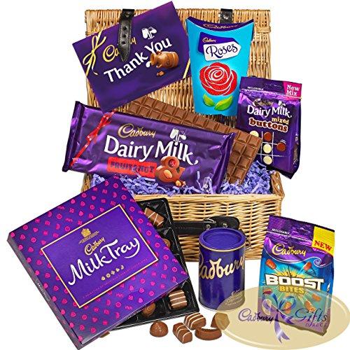 Cadbury Thank You Chocolate Basket