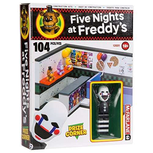 Image of McFarlane Toys Five Nights At Freddy's Prize Corner Construction Building Kit