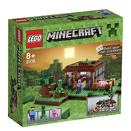 LEGO-Minecraft-The-First-Night-Set