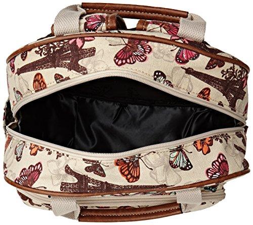 SwankySwans Damen Noel Paris Butterfly Essex Rucksack Beige
