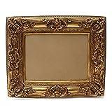 Bilderrahmen Barock Gold 60×70/ 40×50 cm (Antik) Im Retro-Vintage look durch Handarbeit hergestellt für Künstler, Maler. Idealer Gemälde-Rahmen für Ausstellungen STAR-LINE® - 2