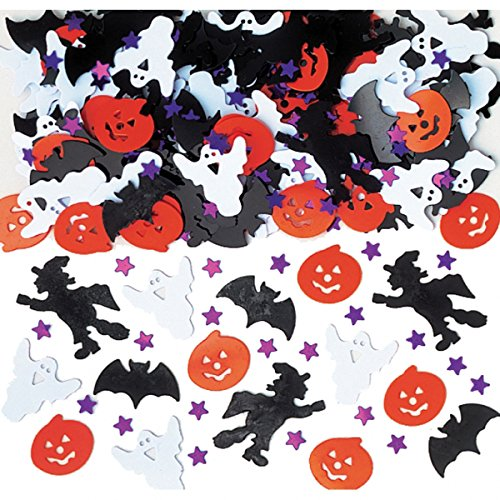 Amscan International 36702 Konfetti hell Halloween Night Dekoration Set