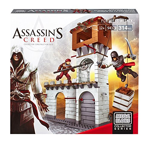 Mega bloks dbj04 - assassin's creed, assedio della fortezza, plastica