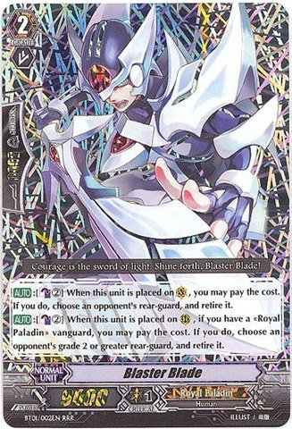 Cardfight!! Vanguard TCG - Blaster Blade (BT01/002EN) - Descent of the King of Knights by Cardfight!! Vanguard TCG
