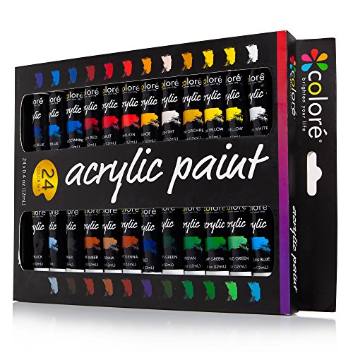 colore-acrylic-paint-set-perfect-for-painting-canvas-clay-fabric-nail-art-and-ceramic-rich-pigments-