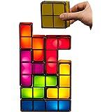 7 Tetris DIY 3D Desk Light Magic Puzzle Colorful Blocks LED Lamp Night Light