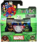 Marvel Minimates Exclusive Juggernaut As Kuurth & Hulk As Nul by...