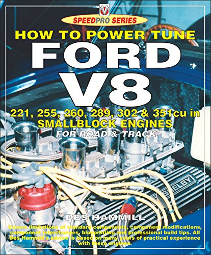 How to Power Tune Ford V8: 221, 255, 260, 289, 302 & 351 Cu in Smallblock Engines for Road and Track (Speedpro)