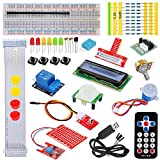 Tolako Starter-Set für Raspberry Pi 3, 2 & Modell B + T GPIO Extension Board, PL2303, Schritt Motor, Steckplatine, Dot Matrix Display, Fernbedienung Starter Kit