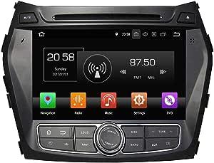 8 Zoll Touchscreen Android 8 0 Auto Radio Head Unit Für Hyundai Santa Fe Ix45 2013 2018 Dvd Player Bluetooth Dab Radio Navigation