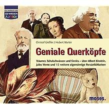 CD WISSEN Junior - Geniale Querköpfe - Jules Verne und 15 weitere eigensinnige Persönlichkeiten, 3 CDs