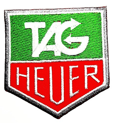 HEUER Motorsport Racing Team Le Mans Carrera GT Formula 1 F1 Racing Race Tag Heuer Watch Sponsor Logo Patch Sew Iron on Embroidered