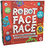 GAMEFACTORY 76146 - Robot Face Race multilingual, 2 - 4 Spieler