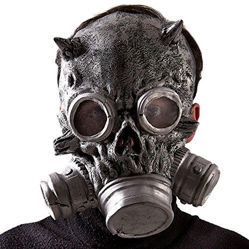 Halloween Mit Kostüme Gasmasken (Carnival Toys 1651 - Maske Totenschädel mit)