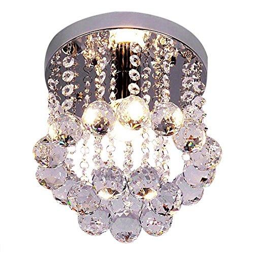 Mission Deckenleuchte (Moderne Luxus Kreative Runde LED Mini Style Kristall Deckenleuchten)