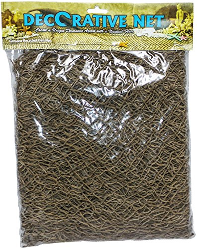 U.S. Shell Decorative Fish Net-5'x7'