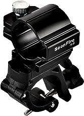 Soonfire N8 Fahrradscheinwerferhalter Fahrrad LED Taschenlampe Front Lampe Halterung Halterung Clip,MTB Bike Handler Bar Extender
