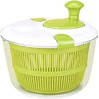 Essoreuse à salade, grande essoreuse manuelle à laitue de 5 L, sans BPA, préparer une salade délicieuse saine,sécheuse à…