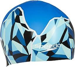 Speedo Unisex-Adult Slogan Print Swimcap (Assorted Color)
