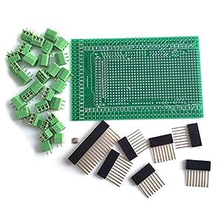 WINGONEER Prototype Screw / Terminal Block Shield Board Kit For Arduino MEGA 2560 R3 DIY