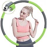 TTMOW Hula fitnesshoepel voor volwassenen, voor gewichtsvermindering, 6-8 delen, afneembaar ontwerp voor thuis, op kantoor, i