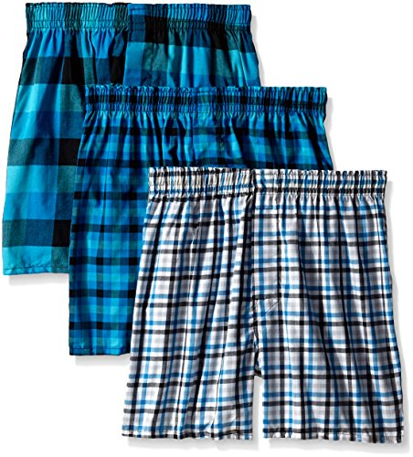 Hanes Men's TAGLESS® Ultimate Fashion Boxer with Comfort Flex® Waistband (Woven Boxer Hanes)