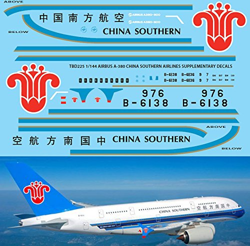 1-144-airbus-a-380-china-southern-livery-revell-decals-tb-decal-tbd225