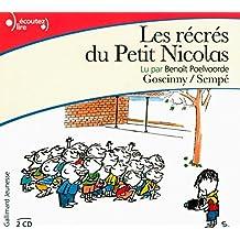 Le Petit Nicolas : Les récrés du petit Nicolas. 2 CDs