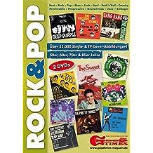 Rock & Pop Single- und EP Coverarchiv auf DVD