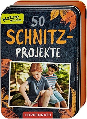 50 Schnitz-Projekte - Holz-schnitz-taschenmesser