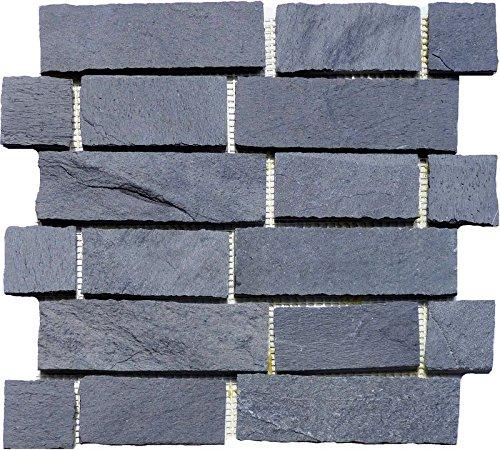 1filet-mosaque-pierre-naturelle-mur-ver-blender-sur-rseau-noir-ardoise