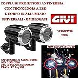 COPPIA FARETTI A LED GIVI S321 PER MOTO CON PARAMOTORI FARI...
