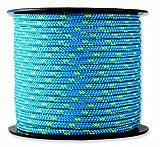 Chapuis MO325B Drizza poliestere - 200 kg - Diametro 3 mm - Lunghezza 25 m - Blu/giallo
