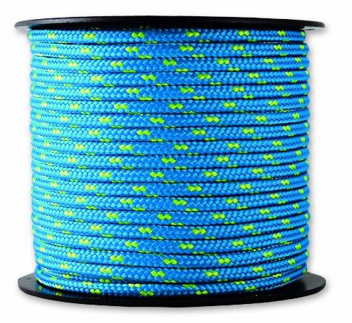 Chapuis MO325B Polyester-Flaggleine – 200 kg – Durchmesser 3 mm – Länge 25 m – Blau/gelb