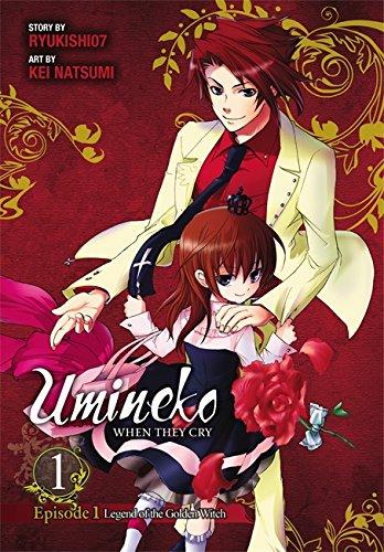 Umineko WHEN THEY CRY Episode 1: Legend of the Golden Witch, Vol. 1 por Ryukishi07