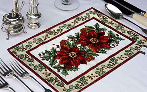 Avioni Tapesary Table Mats With Runner (Set Of Seven)