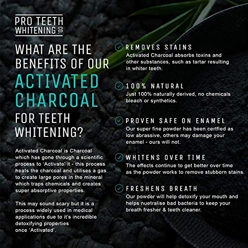Zoom IMG-2 carbone attivo sbiancante per denti