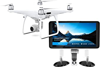 Dji by devicekart Phantom 4 Advanced Plus (With 5.5 Inch Screen) Quad-Copter Drone With One Extra Battery