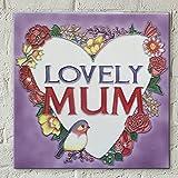 Best Mamá nunca placas - Fiesta Studios - Placa decorativa de cerámica para Review