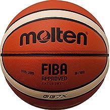 Molten BGG Parallel Pebble - Balón de baloncesto (talla 7), color marrón