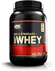 Optimum Nutrition (ON) Gold Standard 100% Whey Protein Powder - 2 lbs, 907 g (Double Rich Chocolate)