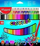 #2: Maped Colorpeps 48 Shades Color Pencils